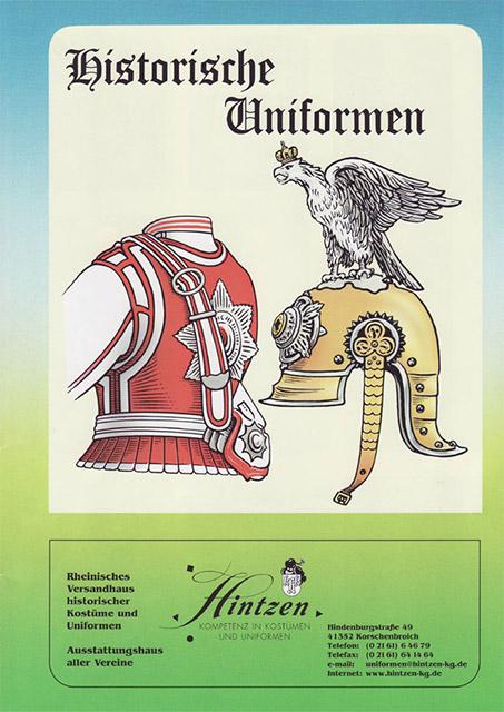 Historische Uniformen Hintzen Seite 1