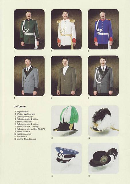 Historische Uniformen Hintzen Seite 2