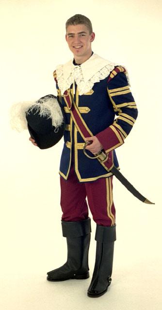 Musketier-Uniform von Hintzen