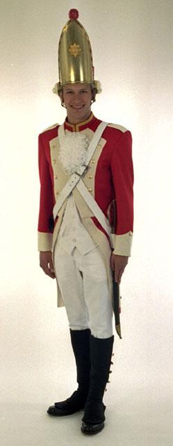 Rote Funken-Kostüme von Hintzen