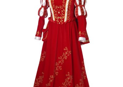 Prinzessin rotes Kleid