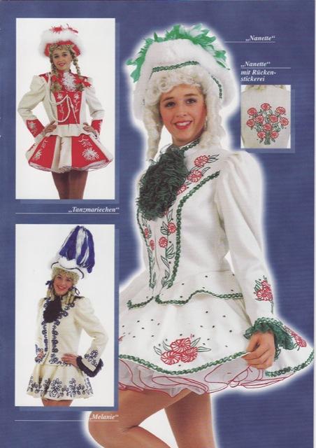 Garde-Kostüme Katalog Seite 3