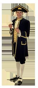 Historische Kostüme und Uniformen