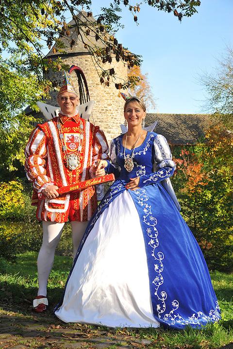Prinz Roland I. und Prinzessin Ewa I.aus Ratingen 2017/18