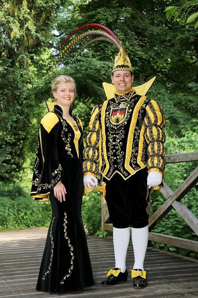 Prinzenpaar Süchteln mit Ministern 2017/18