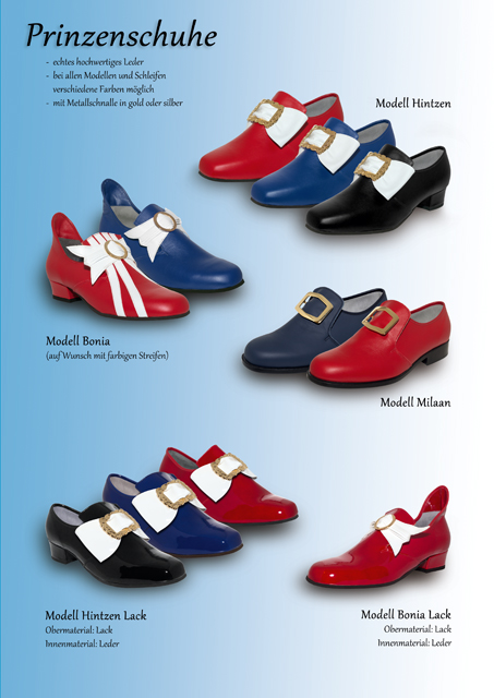 Schuhe und Stiefel für Karneval Seite 2